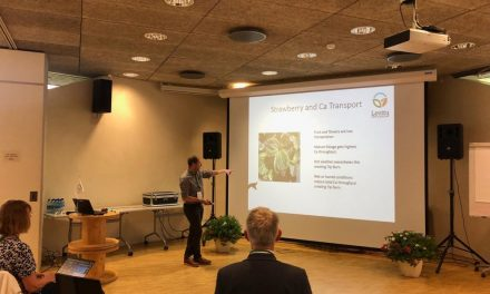 Levity CropScience presents latest world leading research at horticultural conference in Estonia