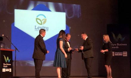 Levity CropScience wins double at Wyre Business Awards