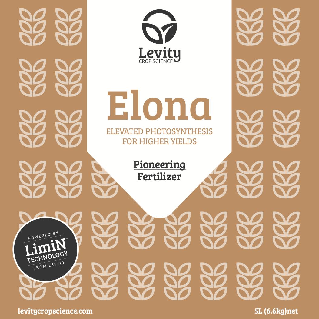 Label for Elona Fertiliser